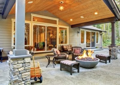 Natural Stone Outdoor Patio