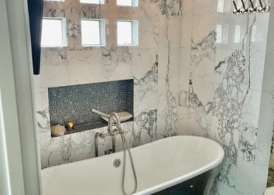 Marble Bathroom Walls and Tile