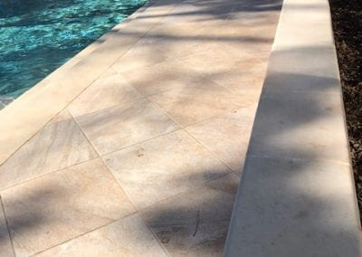 Natural Stone Pool and Patio