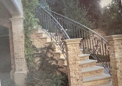 Natural Stone Outdoor Staircase