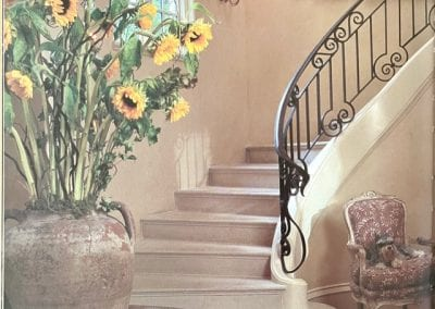 Natural Stone Staircase