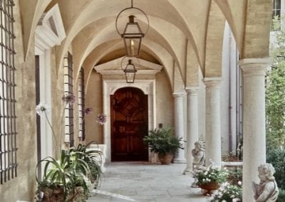 Natural Stone Tile and Columns