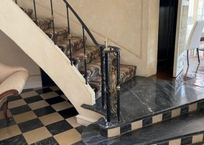 Natural Stone Tile and Staircase
