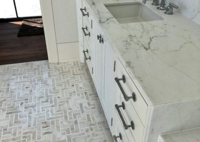 Bathroom Marble Countertops and Tile